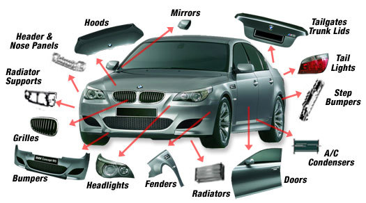 Luxury Car Parts Description Picture Mold - Electrical Circuit ...